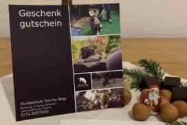 Hundeschule Hundetrainer Hundetagesstätte_Geschenkgutscheine Hundeschule