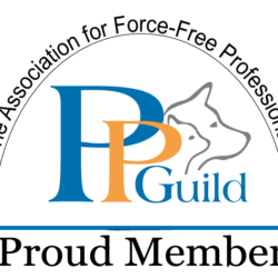 Logo Mitgliedschaft Pet Professional Guild - Zwangfreier Umgang mit dem Hund